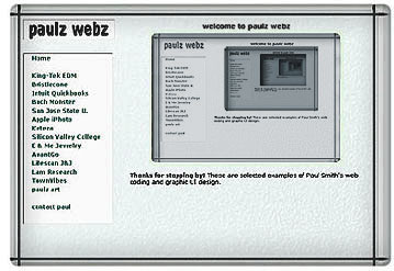 paulz webz - Paul Smith web UI designer developer portfolio